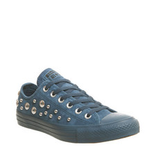 All Star Studded Low Tops