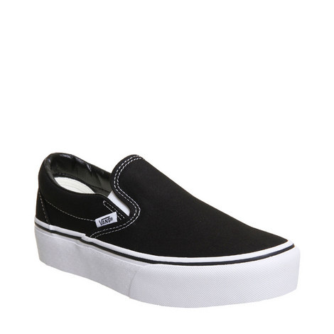 Classic Slip On Platform Trainers, ${color}