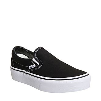 Classic Slip On Platform Trainers