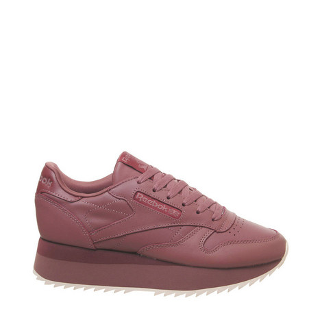 Classic Leather Bold Trainers, ${color}