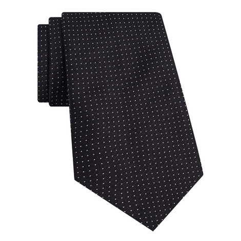 Micro-Dot Silk Tie, ${color}