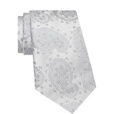 Paisley Patterned Silk Tie