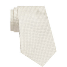 Textured Patterned Silk Tie