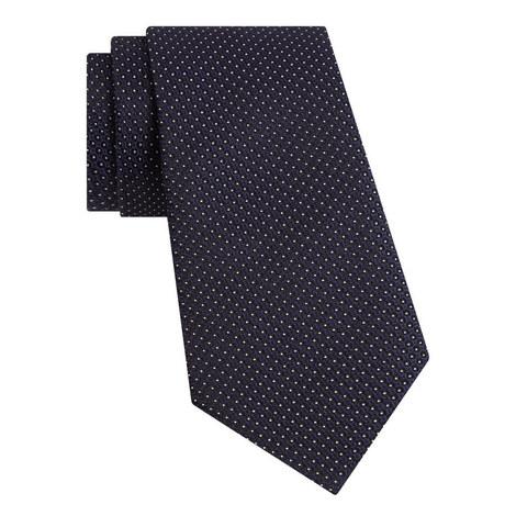 Micro Spot Silk Tie, ${color}