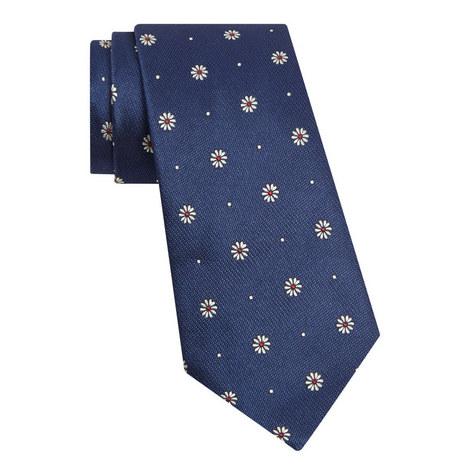 Floral Silk Tie, ${color}