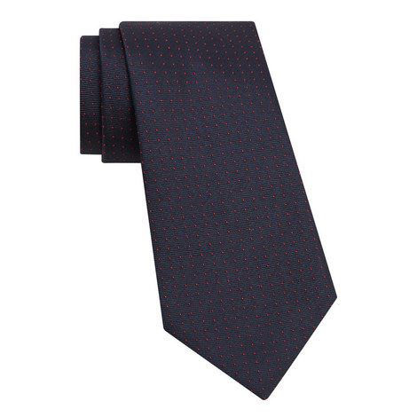 Micro Dot Pattern Tie, ${color}