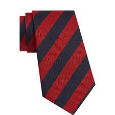 Dot Textured Stripe Tie