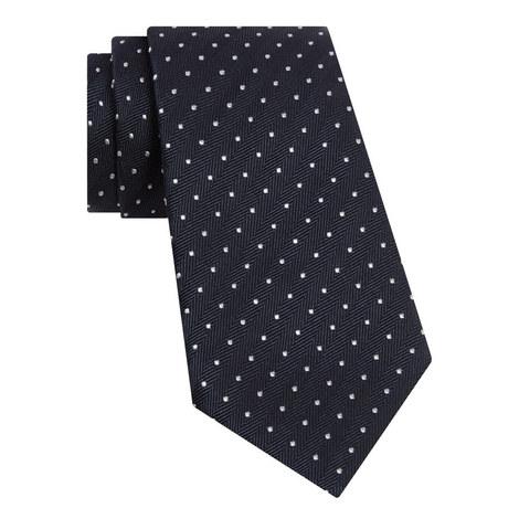 Spotted Herringbone Tie, ${color}