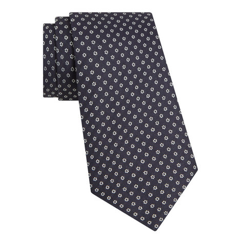 Floral Patterned Tie, ${color}