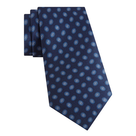 Oval Silk Tie, ${color}
