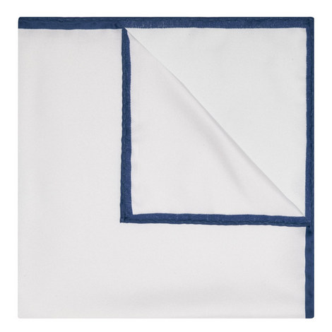 Plain Silk Pocket Square, ${color}