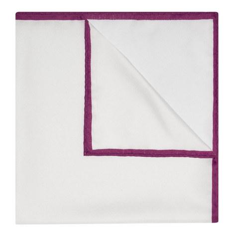 Plain Silk Pocket Square, ${color}