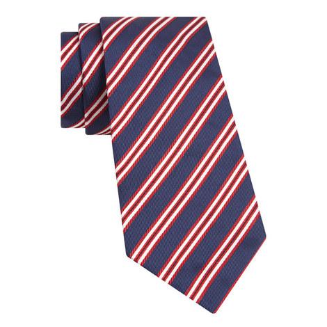 Woven Striped Tie, ${color}