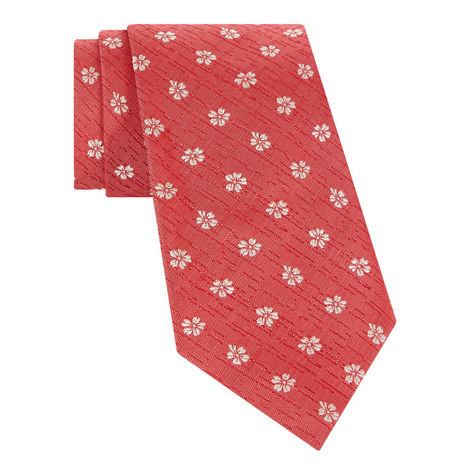 Tropical Embroidered Tie, ${color}