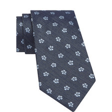 Tropical Flower Pattern Tie