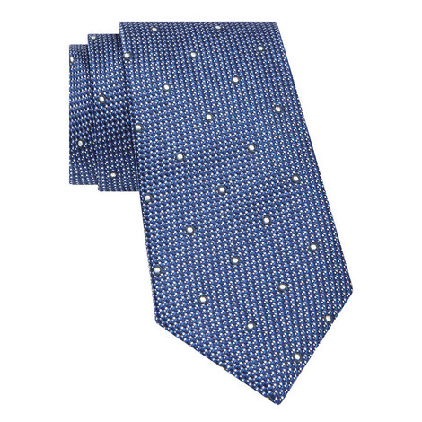 Spotted Woven Tie, ${color}