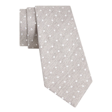 Textured Spot Tie, ${color}
