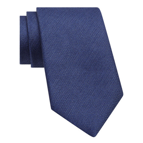 Herringbone Pattern Tie, ${color}