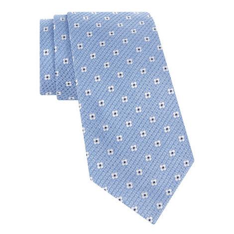 Woven Floral Tie, ${color}