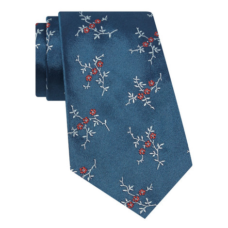 Floral Patterned Tie, ${color}