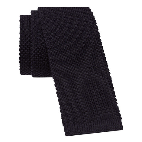 Knitted Wool Tie, ${color}