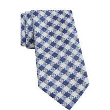 Diamond Pattern Silk Tie