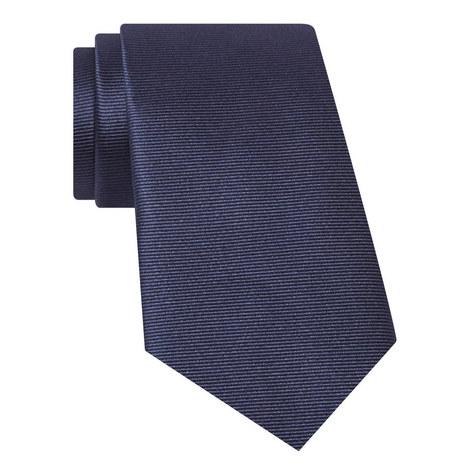 Ribbed Silk Tie, ${color}