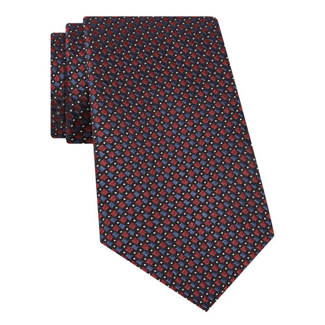 Diamond And Dot Tie, ${color}