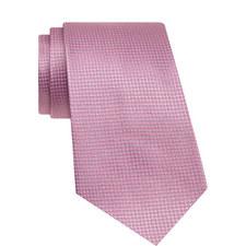 Woven Patterned Silk Tie