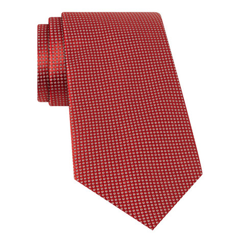 Woven Patterned Silk Tie, ${color}
