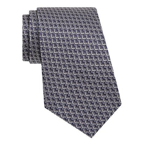 Chevron Silk Tie, ${color}