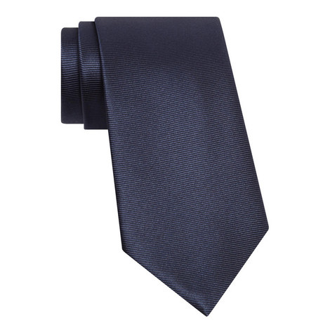 Woven Ribbed Tie, ${color}