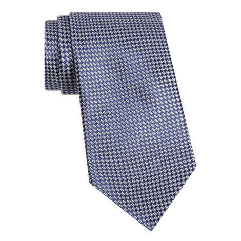 Check Silk Tie, ${color}
