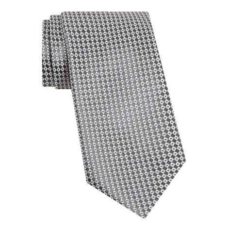 Diamond Pattern Silk Tie, ${color}