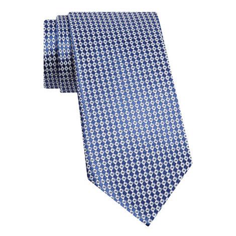Woven Pattern Silk Tie, ${color}