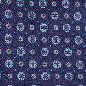 Floral Pattern Silk Tie, ${color}