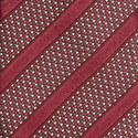 Textured Stripe Silk Tie, ${color}