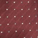 Dot Pattern Silk Tie, ${color}