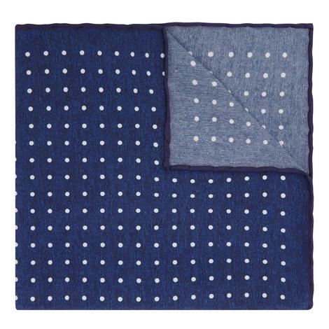 Polka Dot Print Pocket Square, ${color}