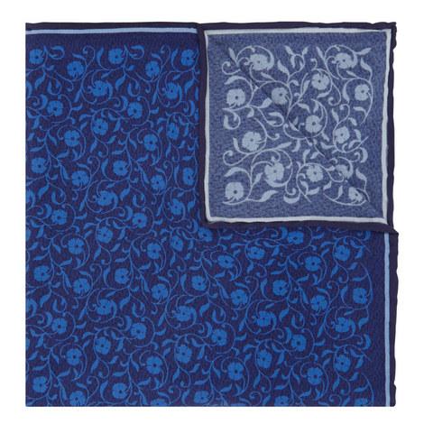 Floral Print Pocket Square, ${color}