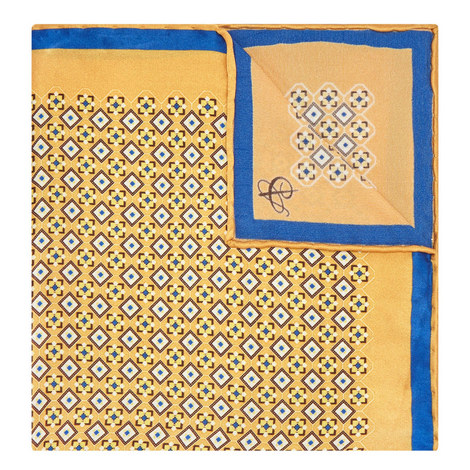 Tile Pattern Pocket Square, ${color}