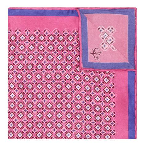 Tile Pattern Pocket Square, ${color}