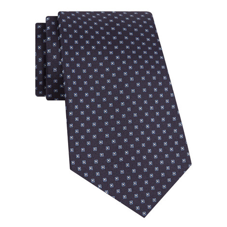 Silk Jacquard Tie, ${color}