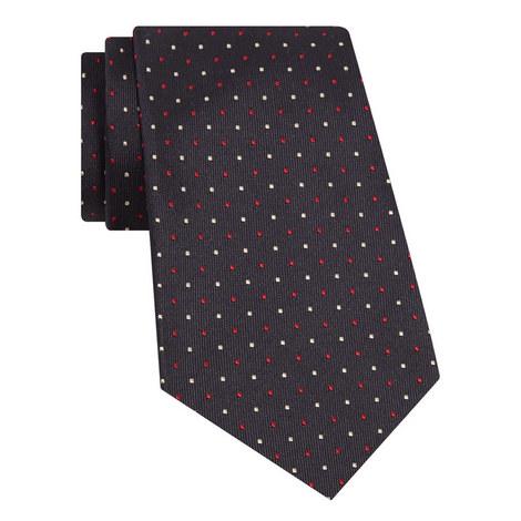 Jacquard Polka Dot Print Tie, ${color}