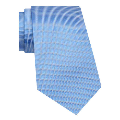 Square Patterned Silk Tie, ${color}