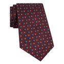 Geometric Jacquard Silk Tie, ${color}