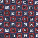 Square Patterned Tie, ${color}