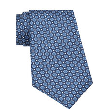 Patterned Ribbed Tie