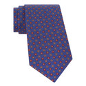 Geometric Flower Pattern Tie, ${color}