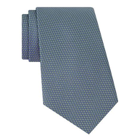 Geometric Silk Tie, ${color}